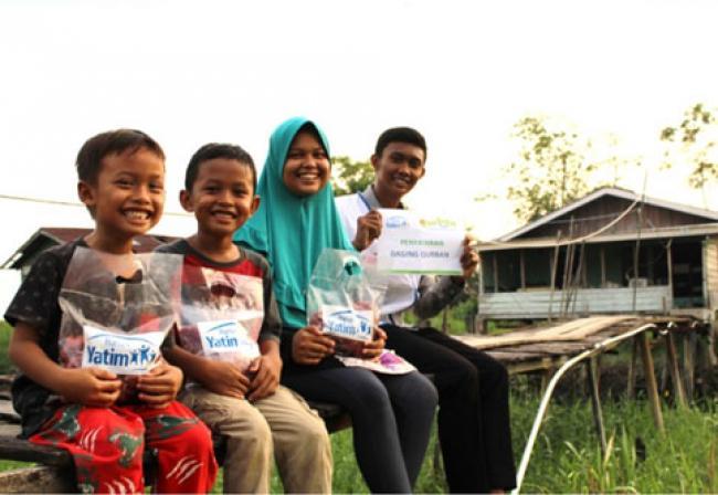 Terima Bantuan Rumah Yatim, Rafli Bersyukur Tak Lagi Berebut Daging Qurban