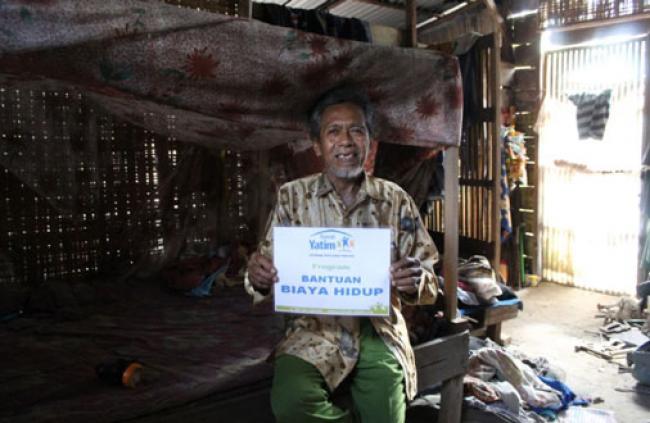 Tinggal Sebatang Kara Di Gubuk, Gatot Sempat Tak Makan Nasi Selama 7 Bulan