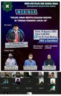 Mahasiswa UIN SUSKA Gelar Webinar Bertajuk Solusi Aman Selesaikan Skripsi di Tengah Pandemi Covid-19