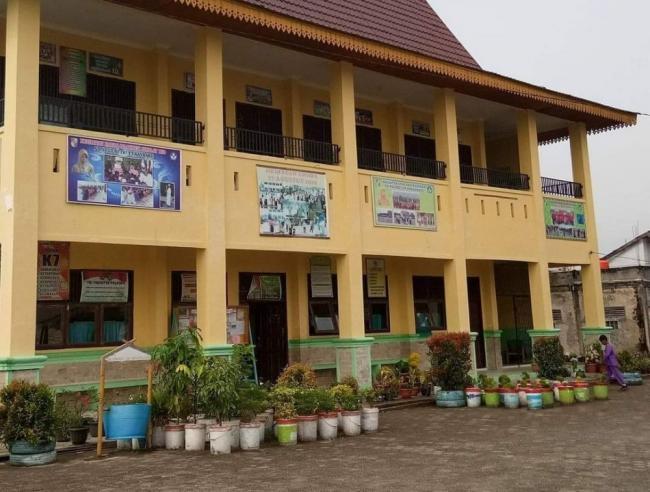 Tingkatkan Minat Baca, Tim Kukerta Unri Buat Taman Baca di SDN 187 Pekanbaru