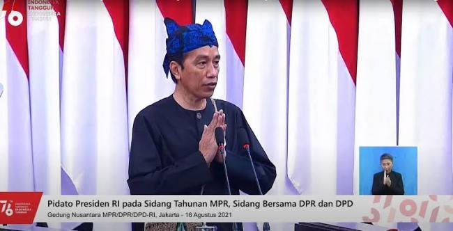 Presiden RI Joko Widodo Apresiasi Lembaga-Lembaga Negara Terkait Penanganan Covid-19