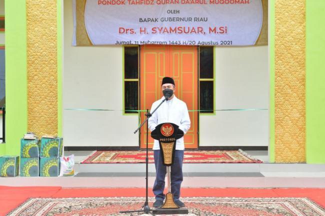 Gubri Puji Prestasi Rumah Tahfiz Al Quran Darul Muqomah
