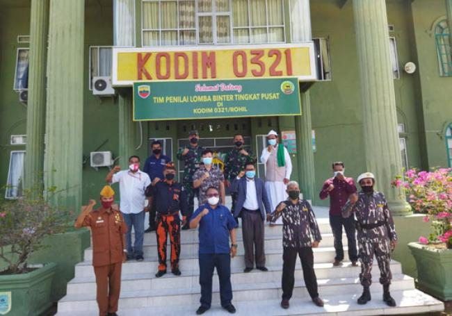 Kodim 0321 Rohil Mewakili Kodam I/BB Ikuti Lomba Binter Tingkat Pusat