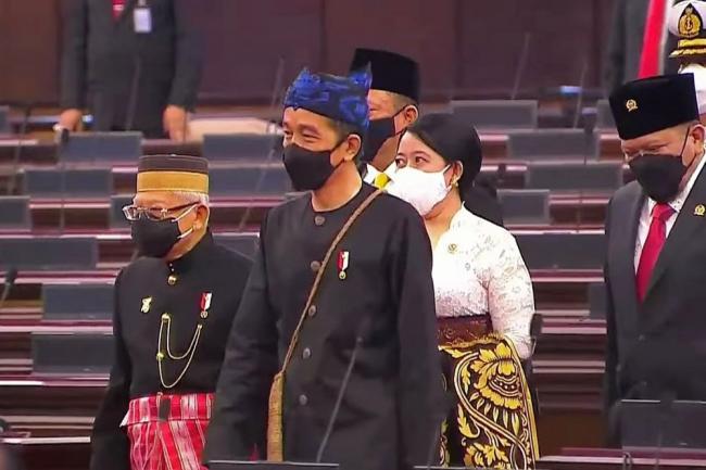 Baju Suku Adat Badui Dipakai Presiden RI Jokowi Gambaran Kesederhanaan