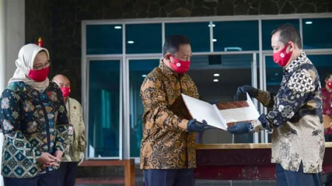 Sekretariat Presiden Kembalikan Naskah Asli Proklamasi ke ANRI
