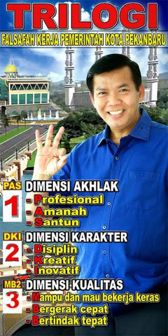 Trilogi Pembangunan Kota Pekanbaru, Wujudkan Kota Metropolitan Madani