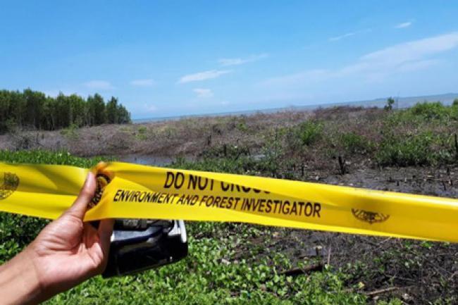 Penyelidikan Karhutla 50 Hektar Di Lahan PT NSP Desa Lukun Belum Tuntas