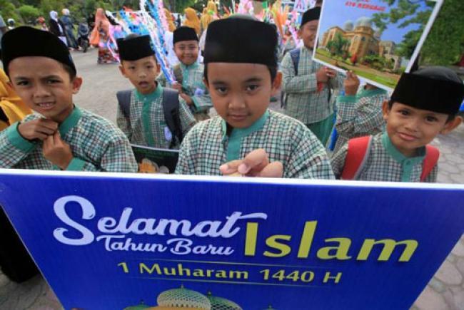Muslim Dunia Sambut Tahun Baru Islam