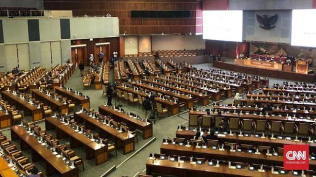 DPR Sahkan 5 Pimpinan KPK Baru, Firli Cs Disambut Meriah