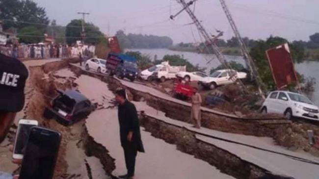 Pemandangan Mengerikan Usai Gempa Besar Guncang Pakistan
