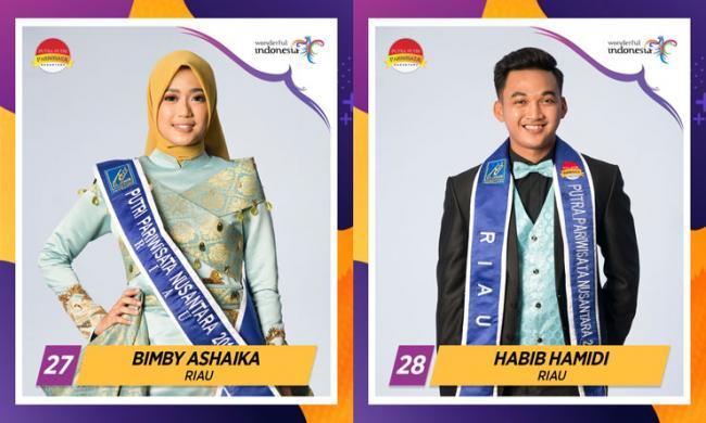 Bupati Amril Ajak Dukung Bimby dan Habib Jadi Putra Putri Pariwisata Nusantara 2019