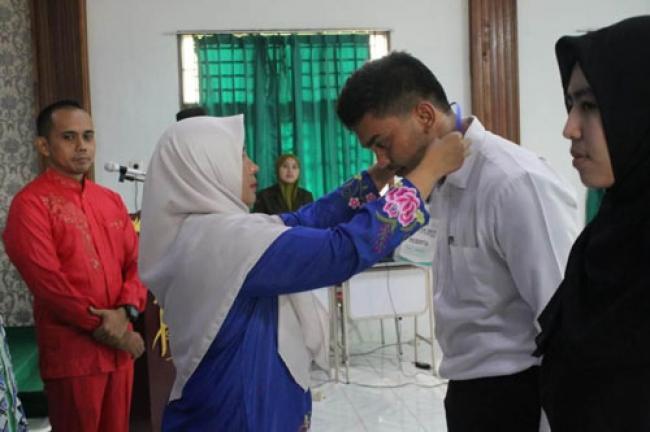 STIE Syariah Bengkalis Terima 219 Mahasiswa Baru