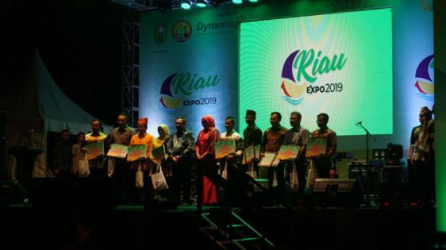 Diskominfo Riau Raih Stand Terbaik Kedua di Riau Expo 2019