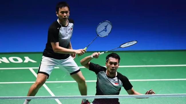 Ahsan-Hendra Berjaya, All Indonesian Final Tercipta di China Open 2019
