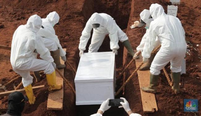 Sedih, Hari Ini Kasus Kematian Akibat Covid di RI Cetak Rekor