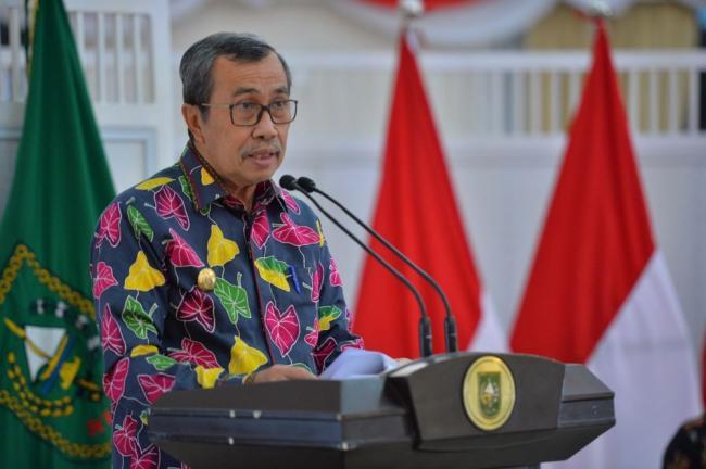Gubernur Riau Ingatkan Rumah Sakit Jangan Kurangi Bed untuk Pasien Covid-19