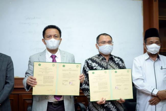 Unilak - UIN Suska Jalin Kerjasama Majukan Pendidikan di Riau