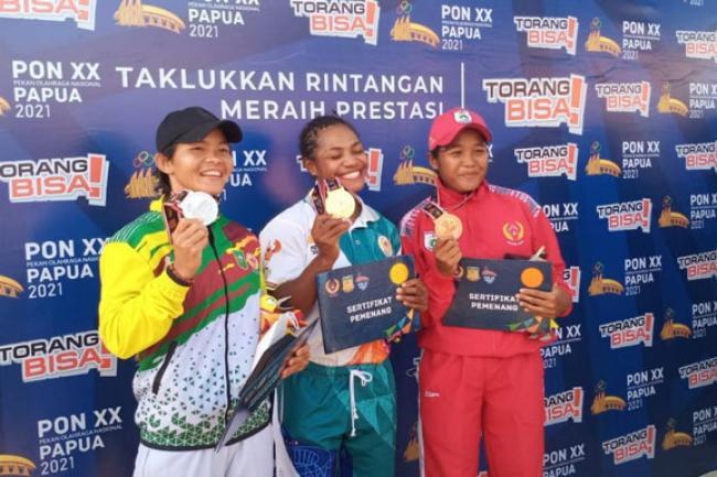 Raudani Fitra Pedayung Putri dari Kuansing Riau Raih Medali Perak di PON XX Papua
