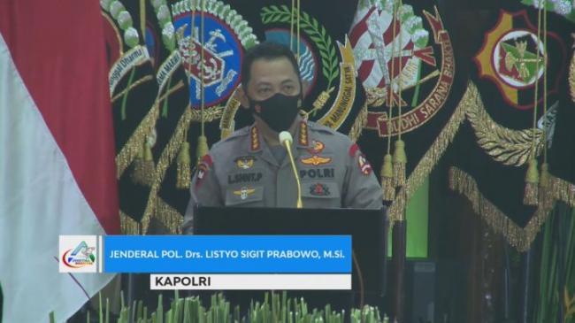 Launching ASAP Digital Nasional, Kapolri: Lakukan Pemantauan Asap Dari Manual ke Digital