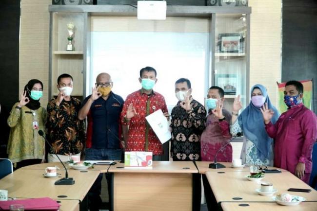 Komisi Informasi Riau Apresiasi Progress PPID Kabupaten Kampar