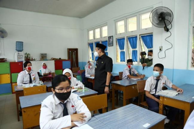 Dua Pekan Pembelajaran Tatap Muka Terbatas di Riau Aman dan Terkendali