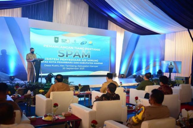 Gubri Ajak Masyarakat Sukseskan Pembangunan SPAM Pekanbaru-Kampar