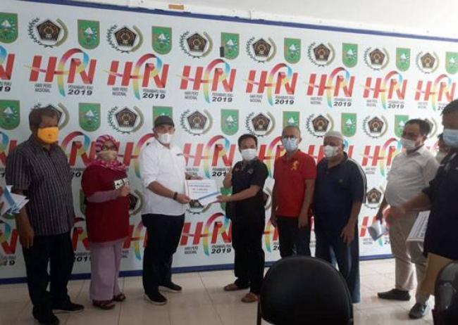 PWI Riau Gulirkan Rp100 Juta Dana Ketahanan Pangan untuk Wartawan