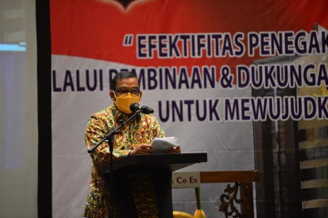 Pembinaan Peningkatan Kemampuan PPNS Riau Jadi Momentum Pengembangan Sumber Daya