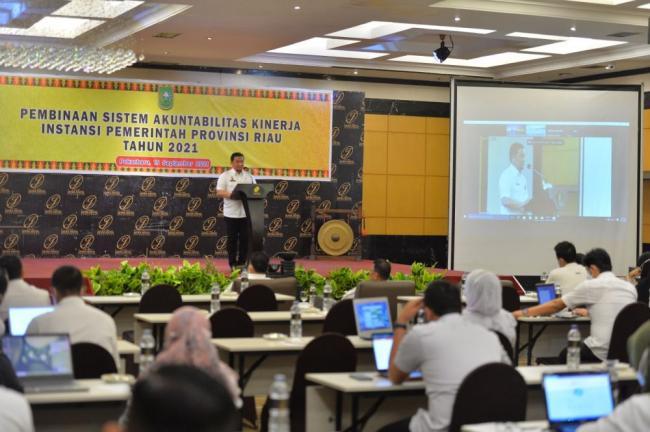 Buka Bimtek SAKIP, Asisten III Setda Riau: Upaya Wujudkan Akuntabel Pemerintahan
