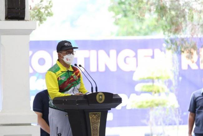 Pemprov Riau Akan Terus Berikan Dukungan Penuh Untuk Atlet Riau ke Papua