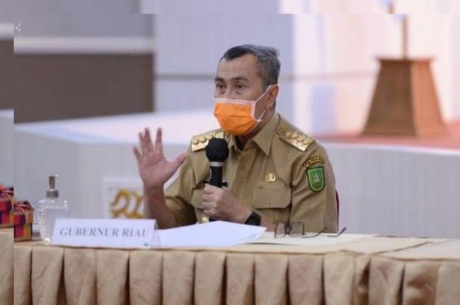 Gubernur Riau Beri Semangat Kepada Atlet PON Riau, Ayo Pelihara Kebersamaan