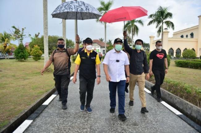 Wisata Istana Siak Kembali Dibuka, Gubri Pesan Pengunjung Taat Prokes
