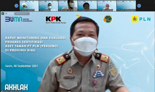 PLN Kejar Target 1.434 Sertifikasi Tanah di Riau