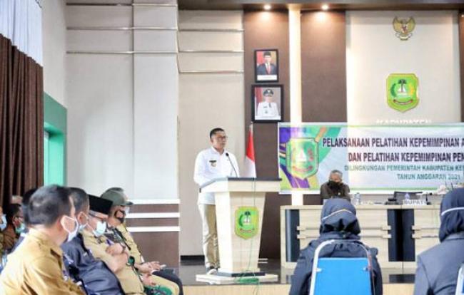 Bupati Meranti HM Adil Buka Pelatihan Kegiatan PKA dan PKP Tahun 2021