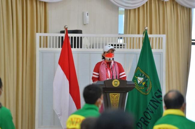Terima Sagu Hati Dari Pemprov Riau, Ini Motivasi Leani Ratri Oktila