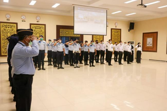 BPSDM Uji Kompetensi ASN Kemenkumham Riau