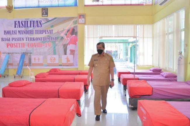 BOR di Isolasi Asrama Haji Riau Dipakai 27 Pasien Corona