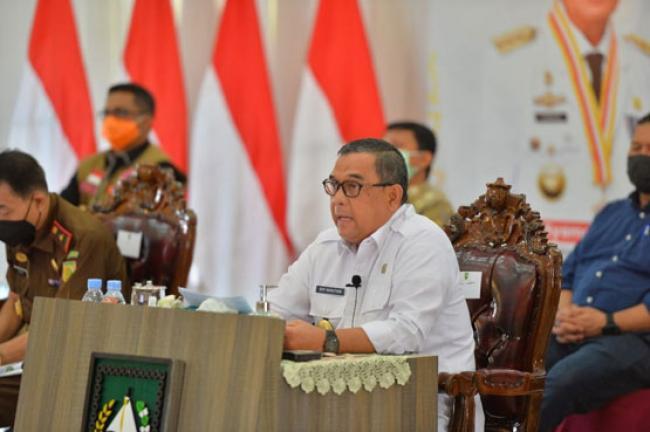 Wagubri: Pemprov Riau Kendalikan Laju Penyebaran COVID-19 dengan Baik