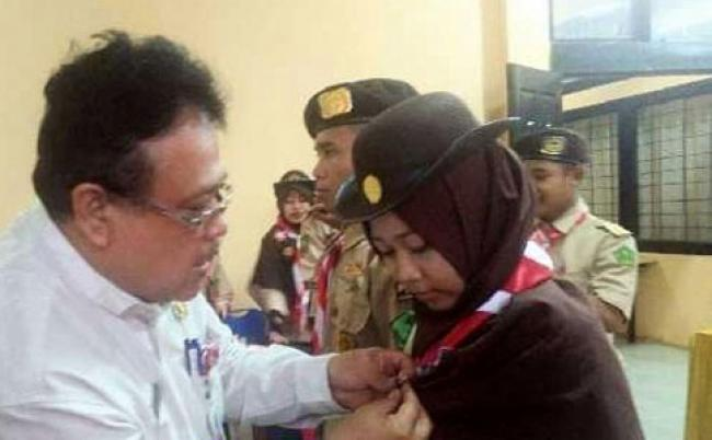 Kontingen SBH Riau Ikuti Perkemahan Tingkat Nasional