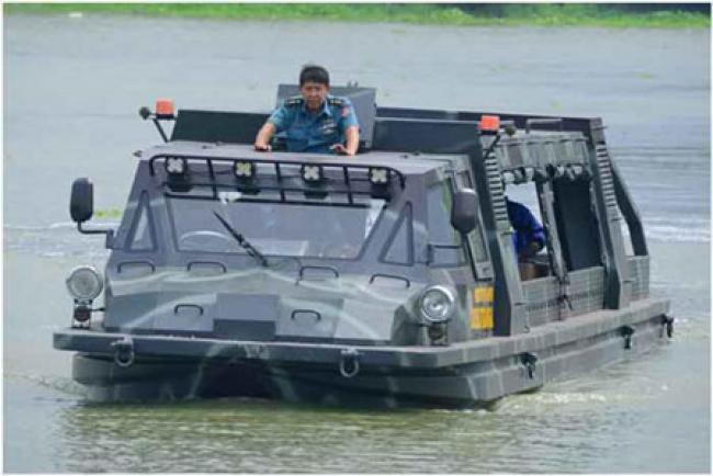 Ini Dia! Truk Amfibi Serba Guna Rancangan Dislitbangal