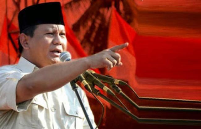 Menangkan Firdaus-Ayat, Gerindra Hadirkan Prabowo sebagai Jurkamnas