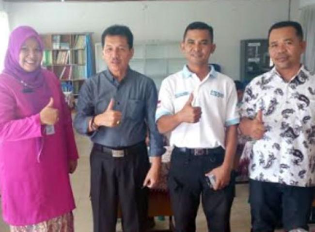 Sakti Peksos Goes To School Sambangi SMP SMPN 6 Pekanbaru