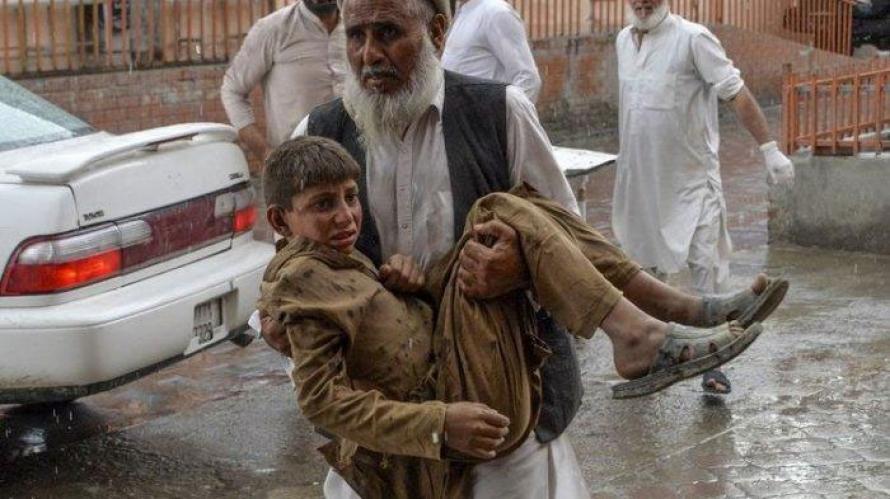 Bom Meledak dalam Masjid saat Shalat Jumat, 28 Orang Meninggal Dunia dan Puluhan Terluka
