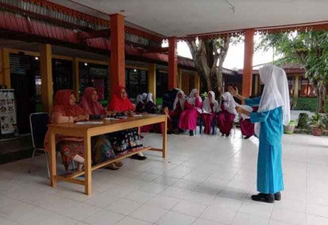 Sambut Sumpah Pemuda, SMPN 17 Gelar Aneka Lomba