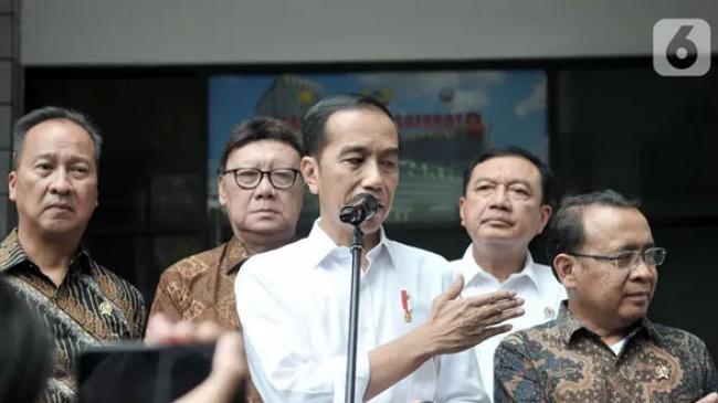 Wiranto ke Jokowi: Pak, Saya Ingin Pulang...
