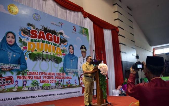 Wagubri: Potensi Sagu Riau Cukup Besar, dan Akan Mendunia