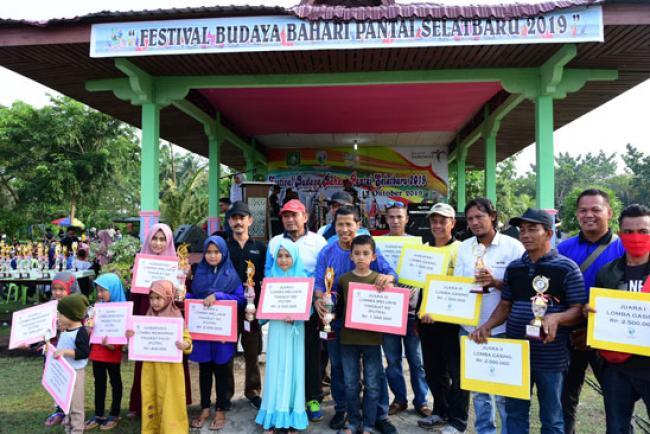 Ini Dia Pemenang Lomba Festival Budaya Bahari Pantai Selat Baru 2019
