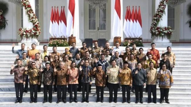 Daftar Lengkap Nama Menteri Jokowi di Kabinet Indonesia Maju