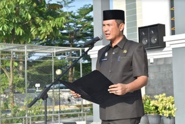 Pimpin Apel Pagi, Alek Kurniawan Kembali ke DPRD Pekanbaru