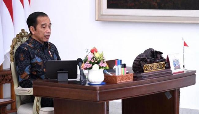 Jokowi: Jika Tak Puas Omnibus Law Silakan Bawa ke MK